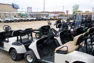 Rentals available at RM Golf Carts