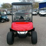 Red Custom Golf Cart