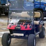 hot rod golf cart