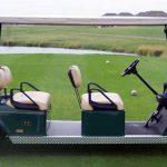 custom limo golfcart