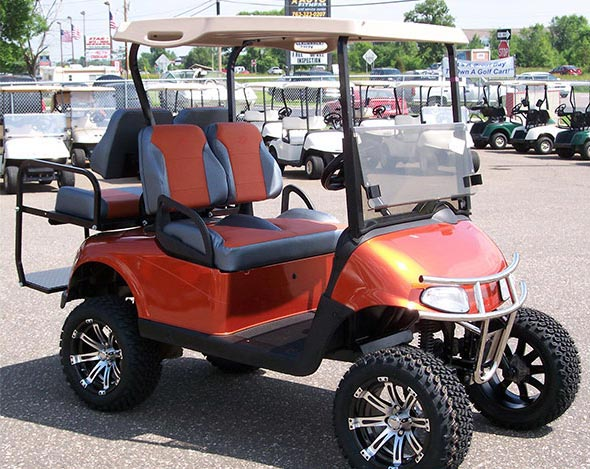 custom golf carts new brighton