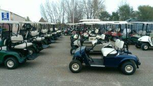 gas golf carts